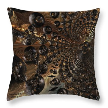 Whirl Wind Of The Universe Throw Pillow by Melissa Messick