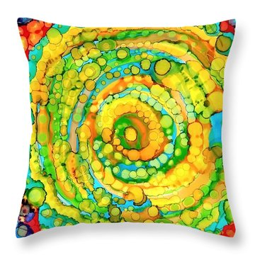 Whirling Throw Pillow