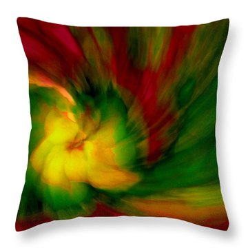 Whirlwind Passion Throw Pillow