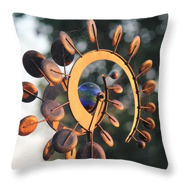 Whirlygig Throw Pillow