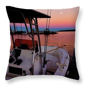 Whiskey Bay Throw Pillow