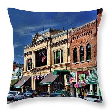 Whiskey Row - Prescott  Throw Pillow