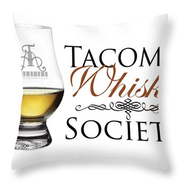 Whisky Throw Pillow