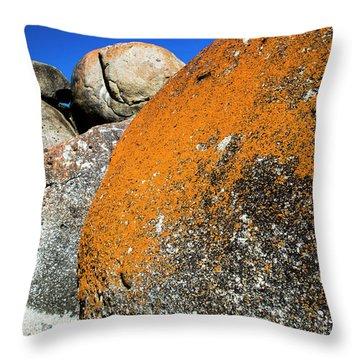 Whisky Rocks Throw Pillow