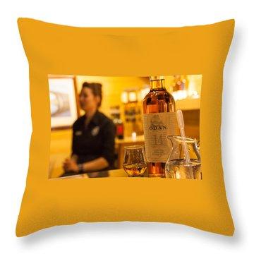 Whisky Tasting Throw Pillow