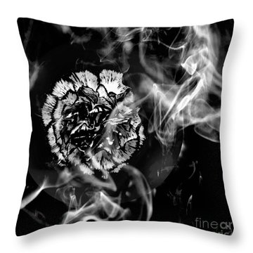 Whisper In The Dark Throw Pillow