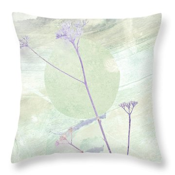 Whisper In The Wiind Throw Pillow by Ann Powell