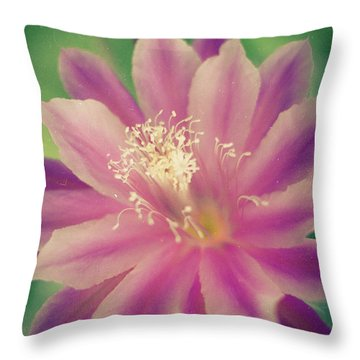 Throw Pillow featuring the photograph Whisper Of Color by Ana V Ramirez
