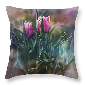 Whisper Of Spring Throw Pillow