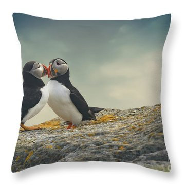 Whispered Secrets Throw Pillow