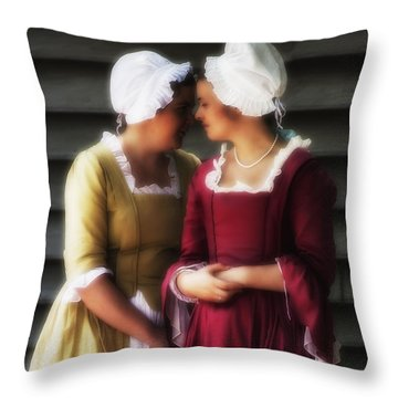 Whispering Campaign  ... Throw Pillow