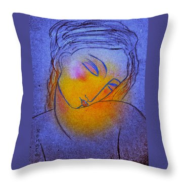 Whispering Hope..... Throw Pillow