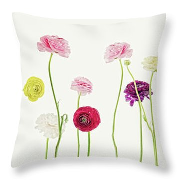 Whispering Spring Throw Pillow