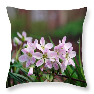 Whispering Throw Pillow by Tom Druin