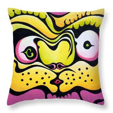 Whispering Wanda Throw Pillow