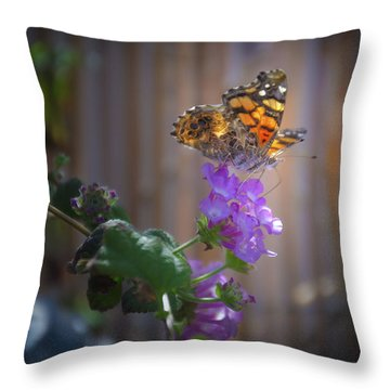 Whispering Wings 2 Throw Pillow