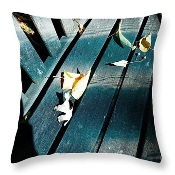 Whispers Of Winter Throw Pillow