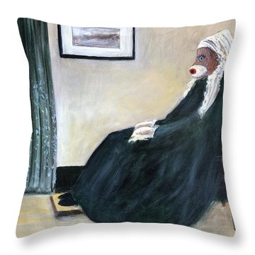 Whistlin Mother Throw Pillow