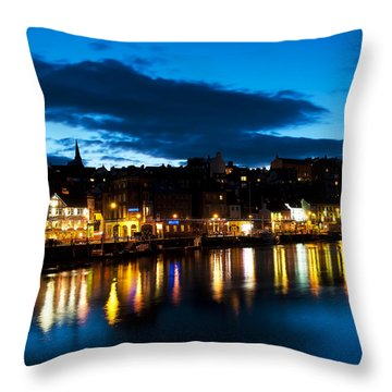 Whitby Eve Throw Pillow by Svetlana Sewell