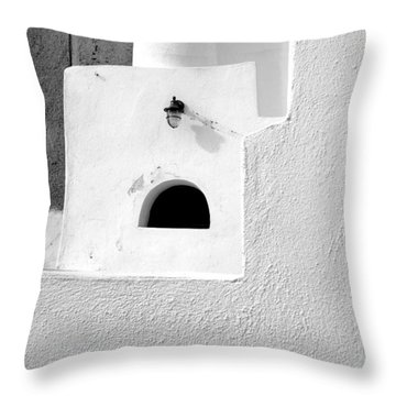 Throw Pillow featuring the photograph White Abstract by Ana Maria Edulescu