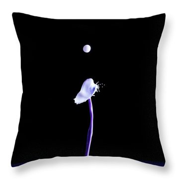 White Cap Throw Pillow