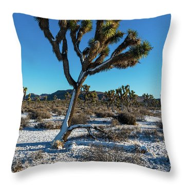 White Christmas 2016 Throw Pillow