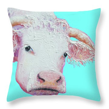 Designs Similar To White Cow On Turquoise Pixels