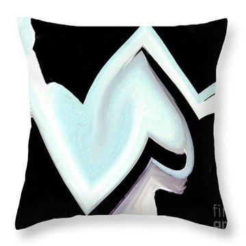 Throw Pillow featuring the digital art White Dove - Like A Salvador Dali Painting by Merton Allen