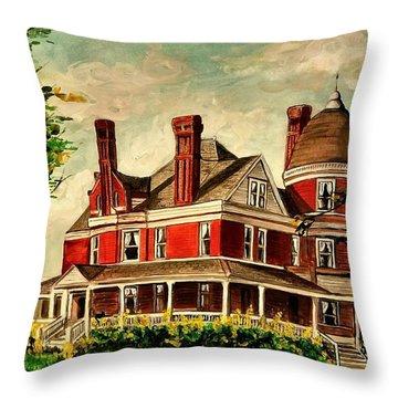 White Hall Throw Pillow