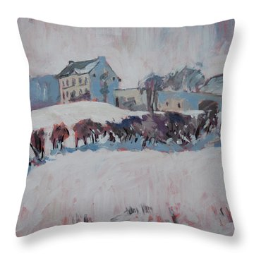White Hill Zonneberg Maastricht Throw Pillow