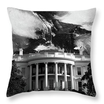 White House 002 Throw Pillow by Gull G