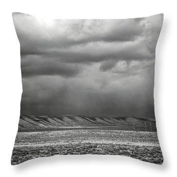 White Mountain Throw Pillow