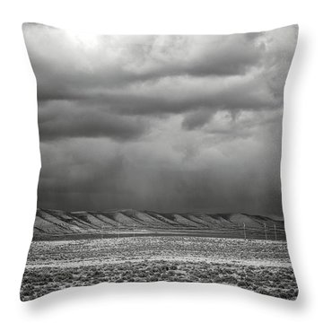 White Mountain Throw Pillow