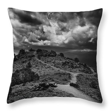 White Mountains 2 Throw Pillow