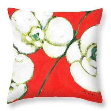 Orchids Throw Pillows