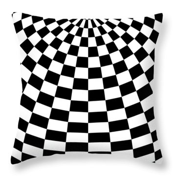 Throw Pillow featuring the digital art White Perfection by Lucia Sirna