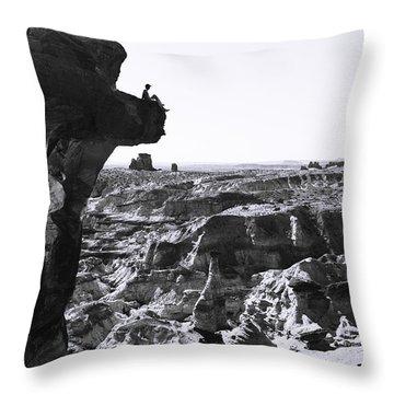 White Rocks Throw Pillow