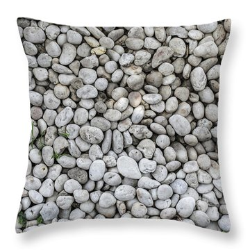 White Rocks Field Throw Pillow