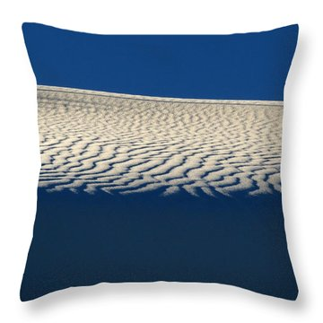 White Sands #4 Throw Pillow