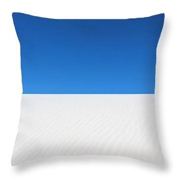 White Sands #8 Throw Pillow