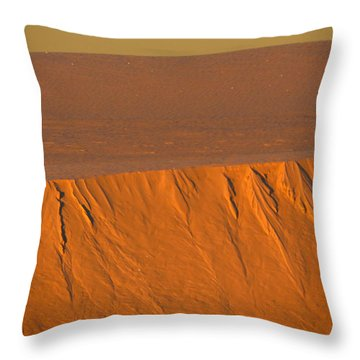 White Sands Dawn #12 Throw Pillow