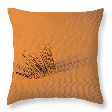 White Sands Dawn #20 Throw Pillow