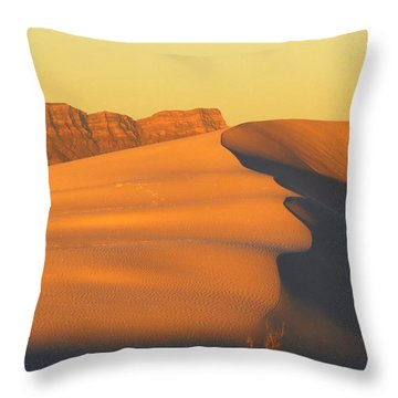 White Sands Dawn #33 Throw Pillow