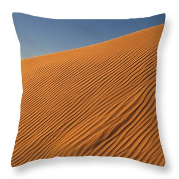 White Sands Dawn #61 Throw Pillow