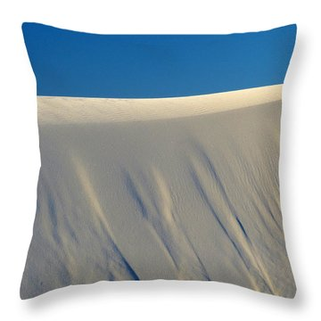White Sands Dawn #65 Throw Pillow
