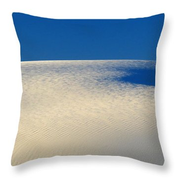 White Sands Dawn #68 Throw Pillow