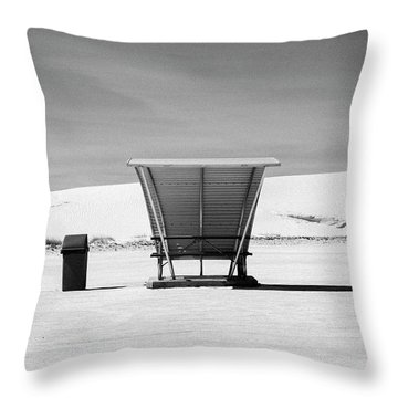 White Sands National Monument #10 Throw Pillow