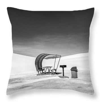 White Sands National Monument #8 Throw Pillow