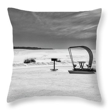 White Sands National Monument #9 Throw Pillow