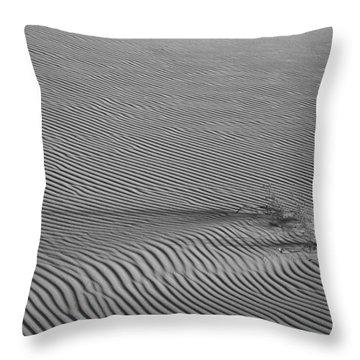 White Sands Texture Throw Pillow